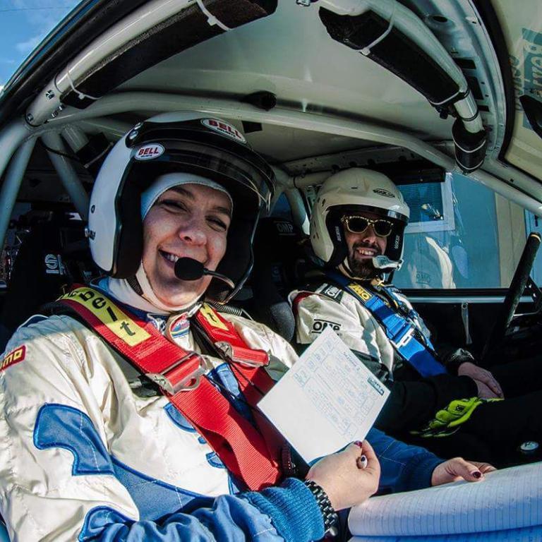 Equipaggio Centro Revisioni CR Rally Team